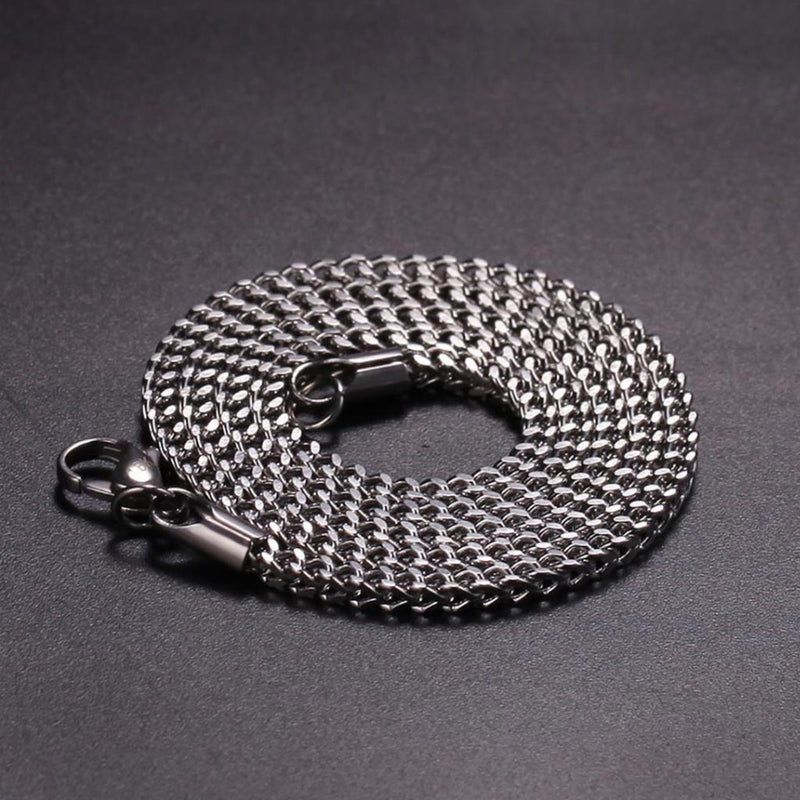 3mm 316L Stainless Steel Franco Chain