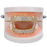 Grillz Set Diamond Ice Style Teeth Set