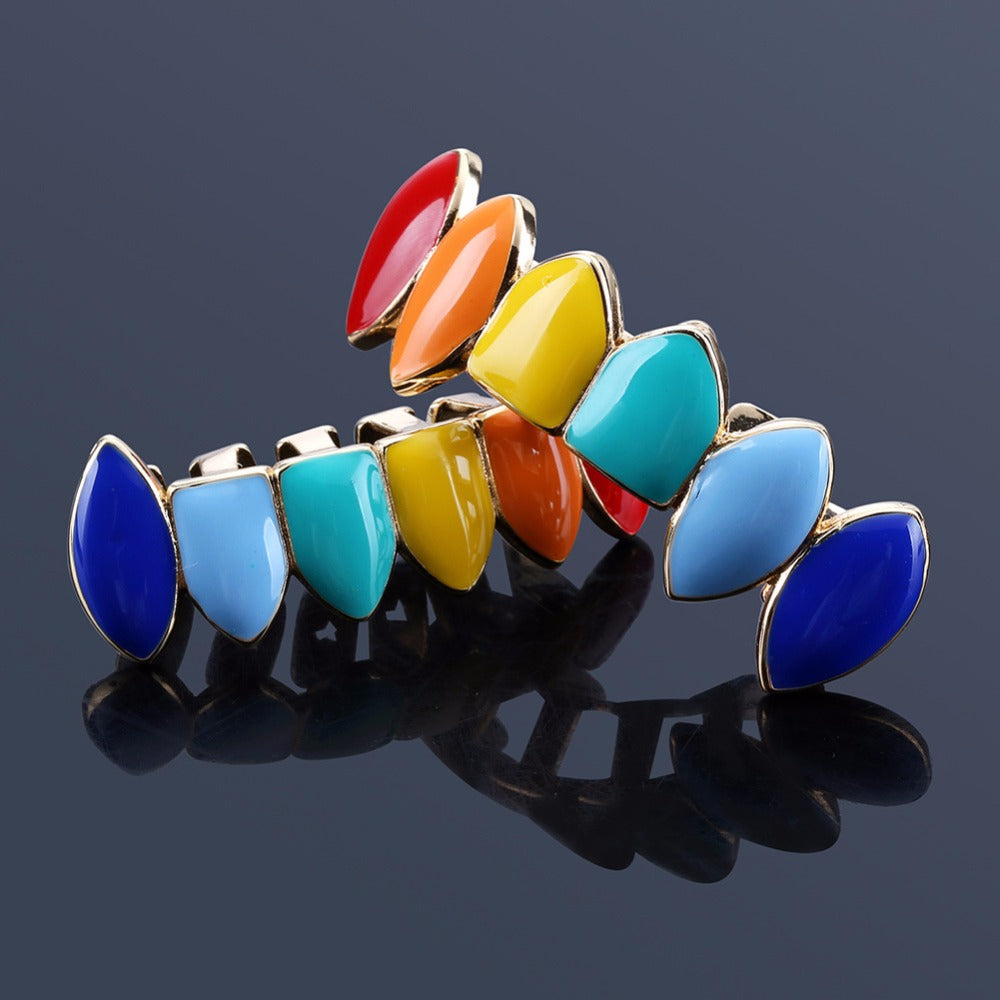 HIP HOP GRILLZ  MULTICOLOR SET