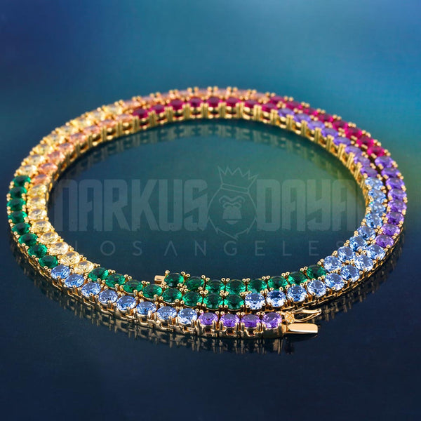 New 4mm Spectrum Tennis Chain