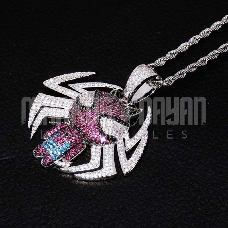 New Ice Out The Avengers  Spider-Man Pendant