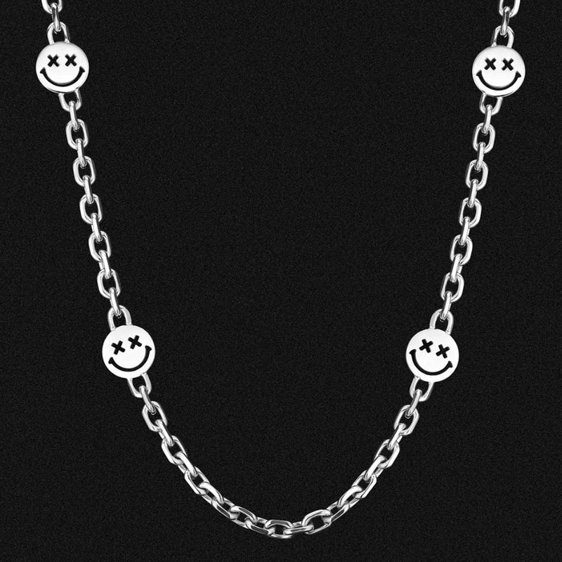 6mm Smiley Miami Cuban Link Chain
