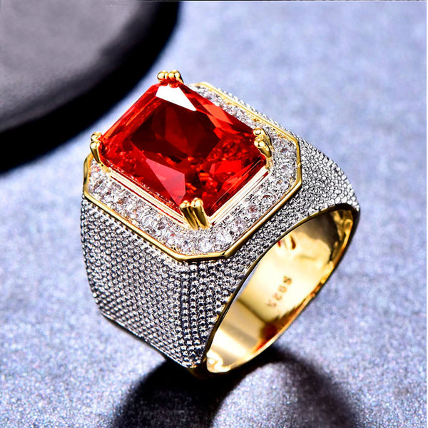 Big Red Geometric Ring