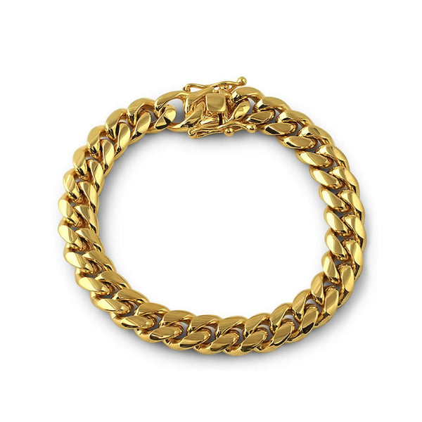 8/10/12 &14mm Miami Cuban Link Bracelet