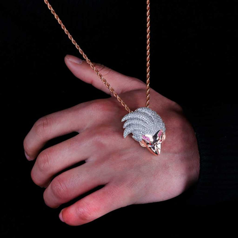 Iced Baby Vegeta 14K Gold Plated