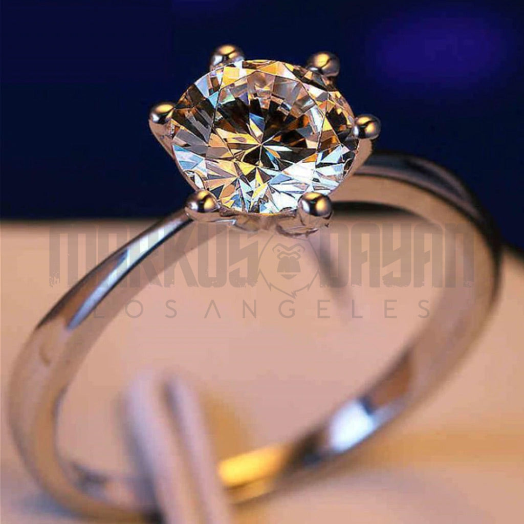 Silver 925 Diamond CZ Ring