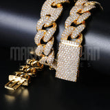 20mm New Lock Clasp Miami Cuban Bundle