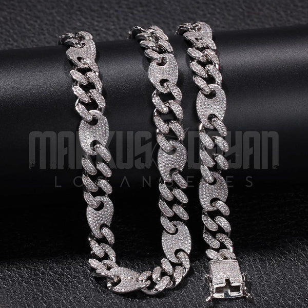 13mm New Lock Box Cuban Necklace