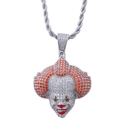 Iced Pennywise Pendant 14k Gold Plated