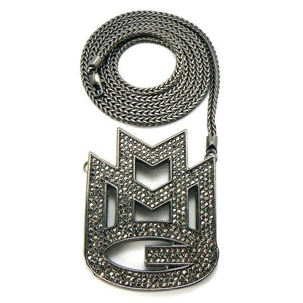 Iced Maybach MMG Pendant 14K Gold Plated