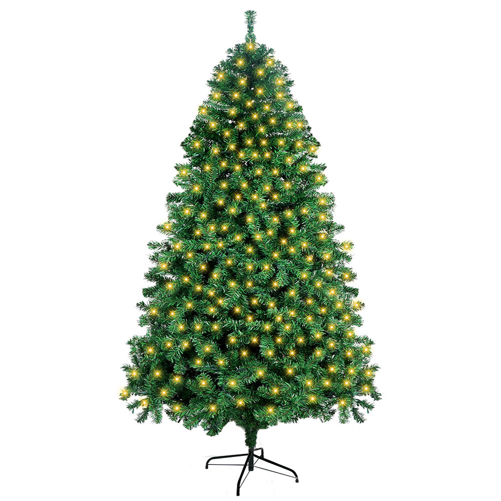 Aytai Pre-Lit Christmas Tree 7ft Artificial Christmas Trees with Lights, UL-Certified 400 Lights for Holiday Decoration, 1300 Tips