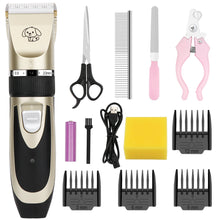 Load image into Gallery viewer, Pet Dog Hair Trimmer Animal Grooming Clippers Rechargeable Low-Noise