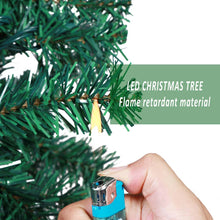 Load image into Gallery viewer, Aytai Pre-Lit Christmas Tree 7ft Artificial Christmas Trees with Lights, UL-Certified 400 Lights for Holiday Decoration, 1300 Tips