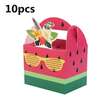 Load image into Gallery viewer, Birthday Party Paper Candy Gift Box Bags Pineapple Fruit Dessert Bags Gift Wedding Favor Decoration