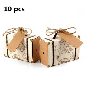 Birthday Party Paper Candy Gift Box Bags Pineapple Fruit Dessert Bags Gift Wedding Favor Decoration