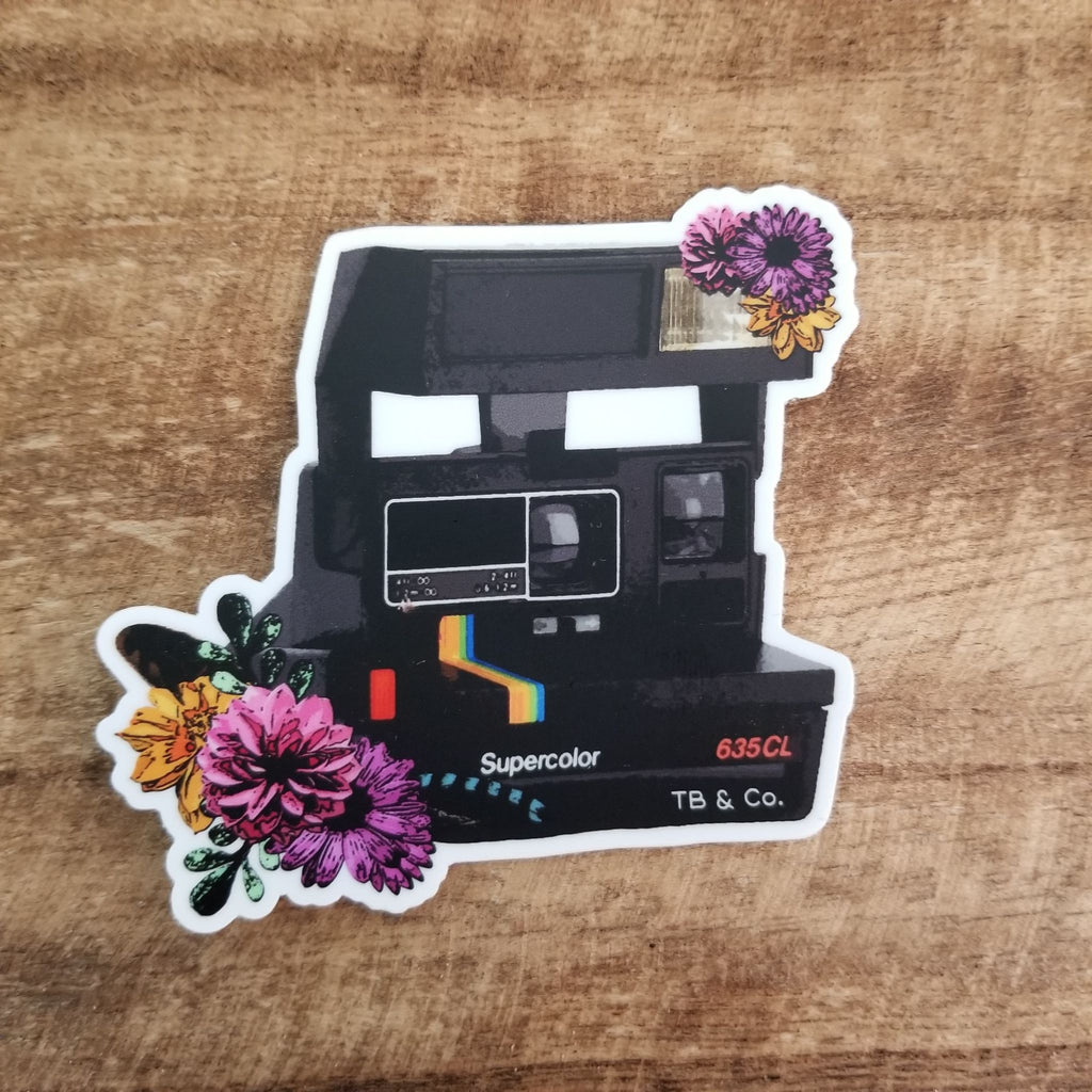 Vintage Polaroid Sticker