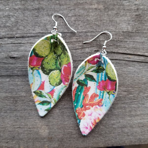 Cactus Petal Earrings
