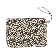 Load image into Gallery viewer, Oversize Cheetah Print Wristlet