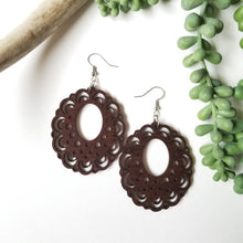Load image into Gallery viewer, Wood Sprite Earrings