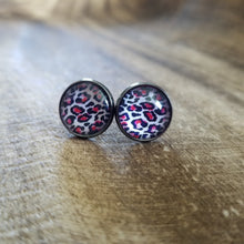Load image into Gallery viewer, Bright Leopard Studs
