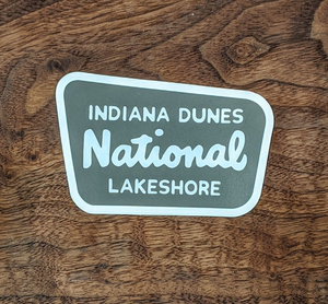 Indiana Dunes Sticker