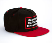 Load image into Gallery viewer, Teamwork Makes The Dreamwork Snapback