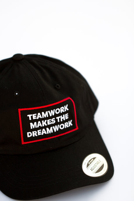 Teamwork Makes The Dreamwork Dad Hat