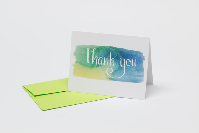 Monserrat's Thank You Cards (Pack of 5)