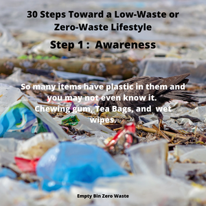 31 tips toward a low-waste or zero-waste lifestyle