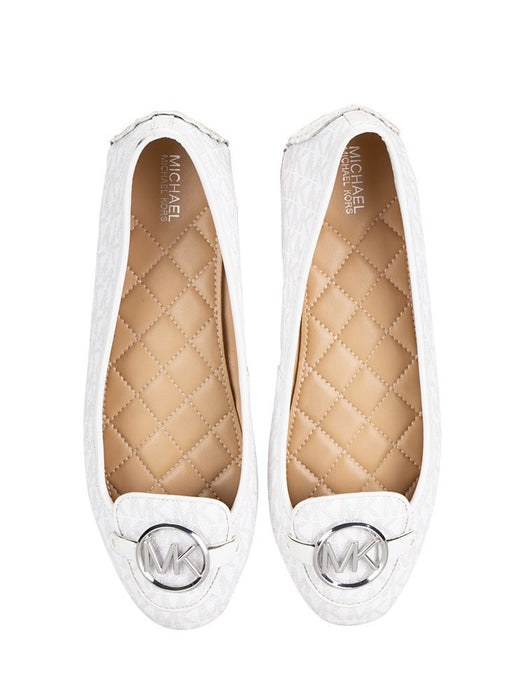Flats Michael Kors Lillie Bright White