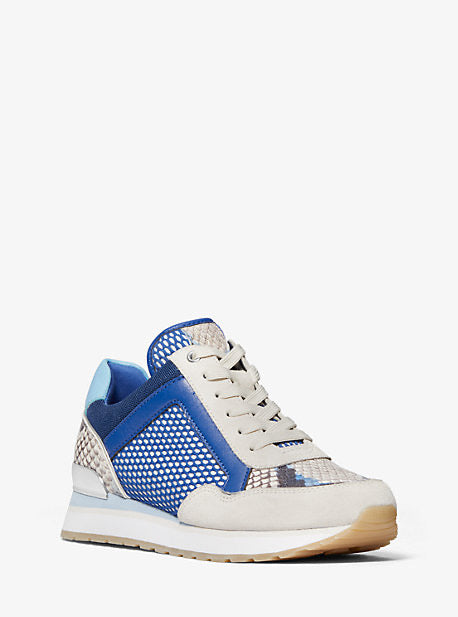 Tenis Michael Kors Maddy Trainer Electric Blue