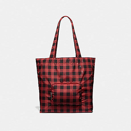 Bolsa Coach Gingham Packable