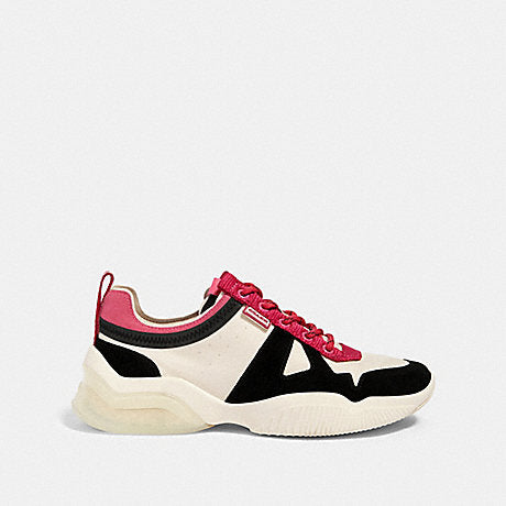 Tenis Coach City Sole Black Pink