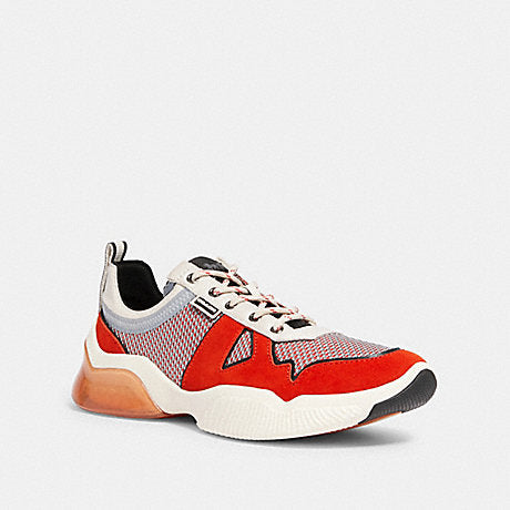 Tenis Coach City Sole Mesh Runner Miami Red