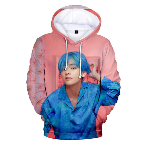 BTS Boy With Luv 3D Print Hoodie V