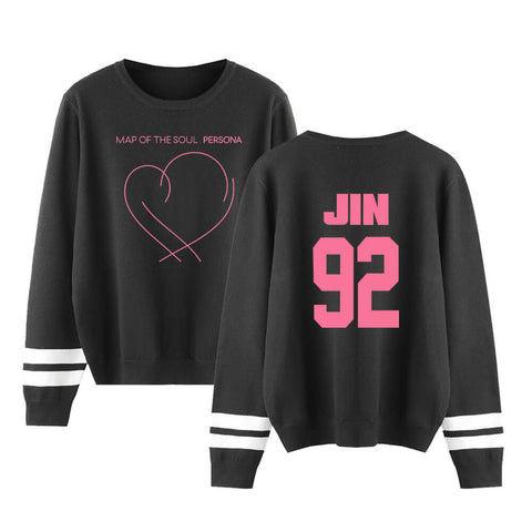 BTS Map Of The Soul Member Printed Sweater