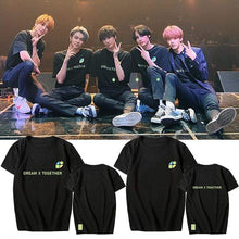 Load image into Gallery viewer, 2020 TXT FANLIVE DREAM X TOGETHER T-shirt