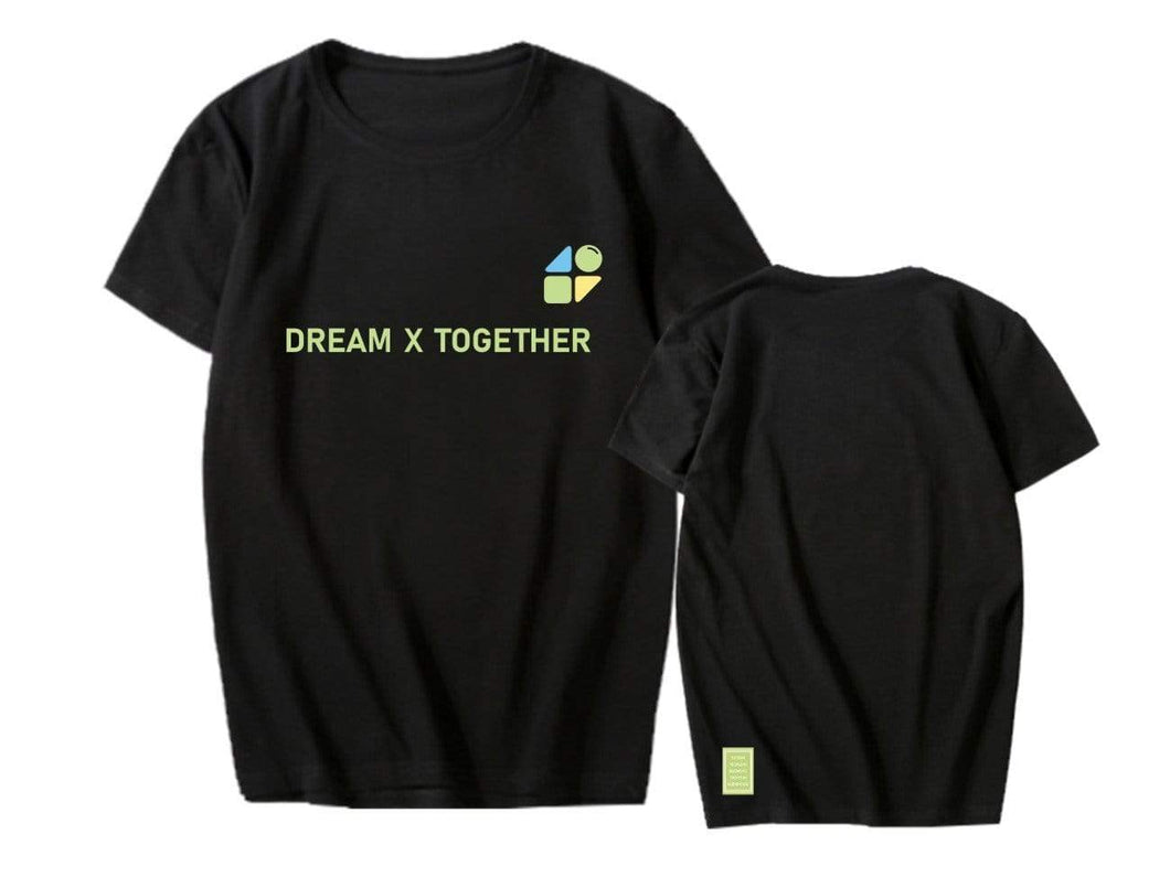 2020 TXT FANLIVE DREAM X TOGETHER T-shirt