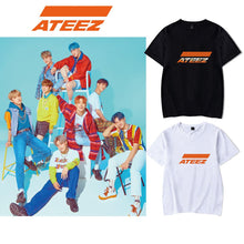 Load image into Gallery viewer, ATEEZ Simple Logo Printing T-shirt