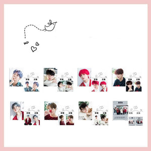 Bangtan Christmas Pictorial Notebook
