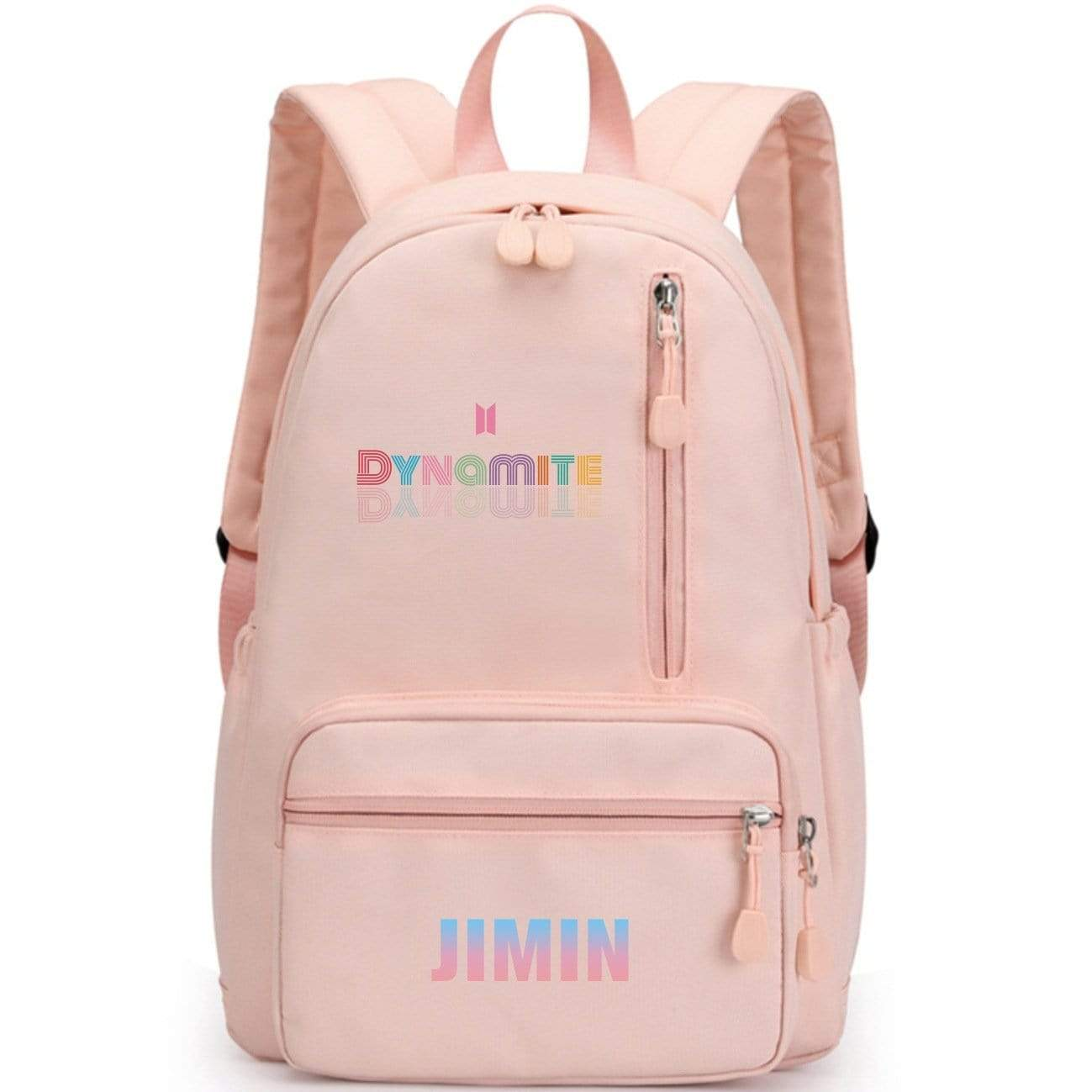 Dynamite Pink Backpack-Stray Kids Merch Shop | Kpop Outfits Store