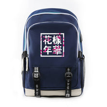 Load image into Gallery viewer, Bangtan Flower Printed Backpack