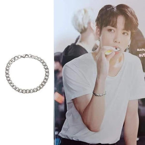 Bangtan Jungkook Burn The Stage Fashion Bracelet