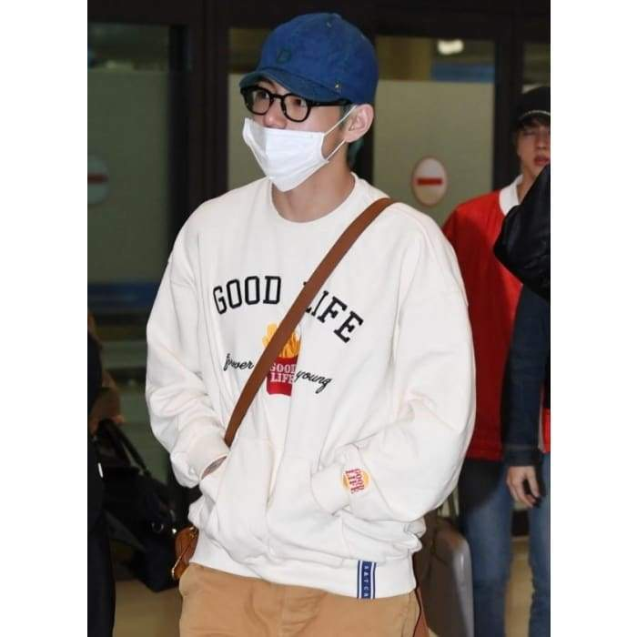 Bangtan Kim Taehyung Good Life Forever Young Sweater