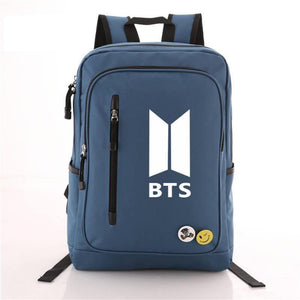 Bangtan Logo Printed Backpack
