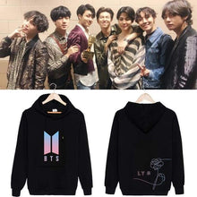 "Load image into Gallery viewer, Bangtan ""Love Yourself Her"" Pink Classic Hoodie"