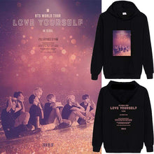 Load image into Gallery viewer, Bangtan Love Yourself World Tour 3 Hoodie