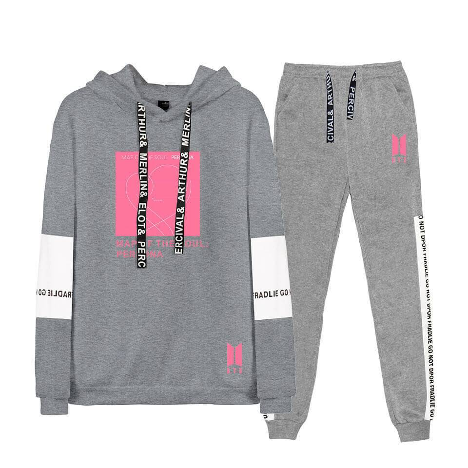 Bangtan MAP OF THE SOUL:PERSONA Album Hoodie Set