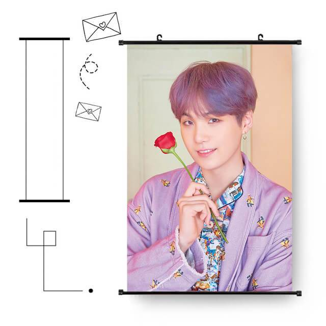 Bangtan MAP OF THE SOUL Persona Hanging Wall Picture