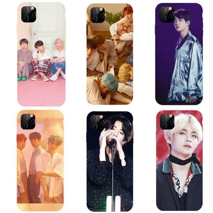 Bangtan Member Design iPhone 11 Shell Case
